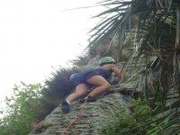 Summer climbing