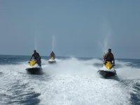 Paseos en motos de agua