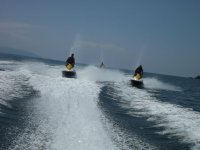 Vallarta en moto de agua