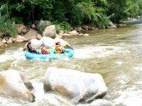 Rafting in Queretarock