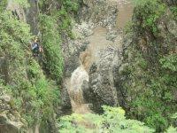 Rappel in Huasteca