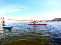 Kayaking in couple