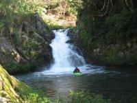 Kayaks in Huasteca