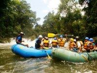 Rafting in Chiapas