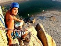 Climbing in Punta Celeste