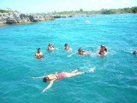 Snorkeleando en arrecifes