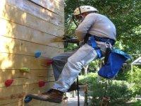 Climbing on artificial walls