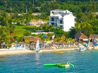 Playa y catamaran