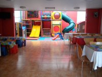 Party room and playground
