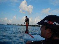Flyboard in Cozumel