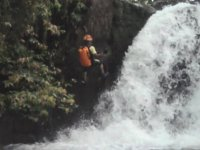 Cascade rappelling