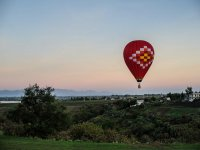 Dawn from the air