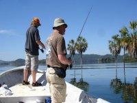 Pescar en presa