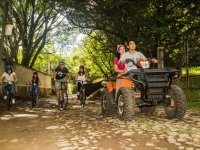 Excursion with quad bike and bikes