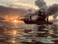 Pesca al atardecer en Cancun