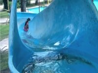 Water slides and water
