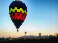 colores en el aire