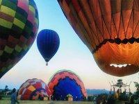 inflado de globos aerostaticos