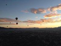 Balloon flights in Mexico