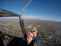 Balloon flight over the pyramids