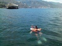 Diversion en el agua