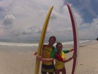 Vamos a surfear