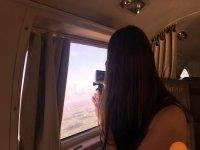 desde la cabina de vuelo
