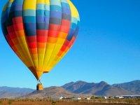 Balloon flight through Tepozotlan