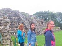 in the pyramids