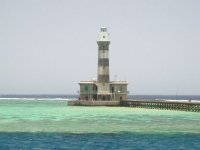 Red sea lighthouse
