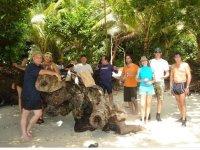 Group in Palau island