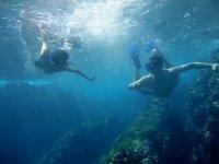 Nadando en Marietas
