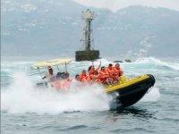 Speedboat ride