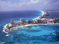 Cancun and its reefs
