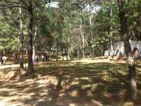 Our archery range