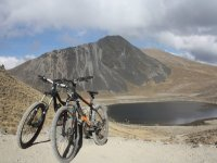 MTB in the Nevado de Toluca