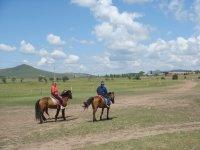 Excursion por el llano a caballo