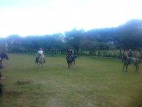Paseando a caballo en Morelos