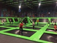 trampolines
