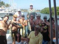 Pescando con los amigos