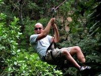 Zipline and adrenaline
