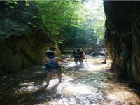 Rutas entre cascadas