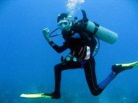 How to walk underwater