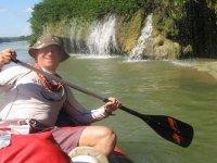 Amazing kayaking