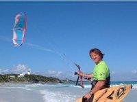 Ready for kitesurfing