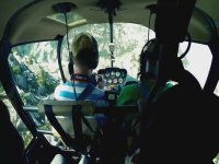 Helicopter trip