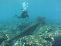 Underwater exploration.