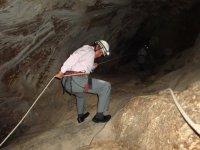 Rappel a la gruta