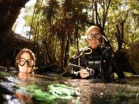 Empieza aventura en cenote