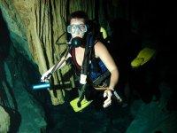 Explorando los cenotes